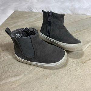 GAP Grey Zip Up Toddler Boots
